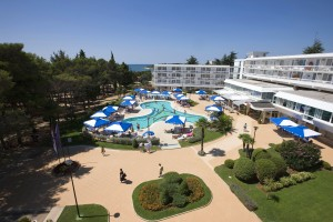 Hotell Aminess Laguna Istrien