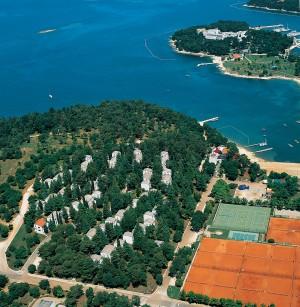 turistični kompleks Apartments Astra Plava Laguna Istra