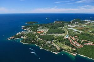 Turistický areál Naturist Resort Koversada Istrie