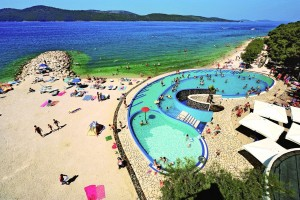 Kemping Solaris Camping Beach Resort Dalmácia