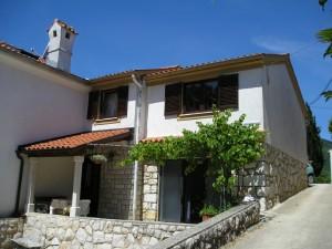 hus Moscenicka Draga, Brsec 147853 Kvarner-bugten