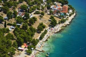 Campingplatz Vranjica Belvedere Dalmatien