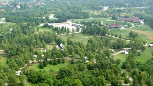 Campingplatz Korana Landesinnere