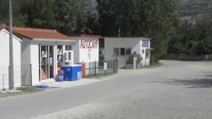 Terrain de camping Pisak Dalmatie
