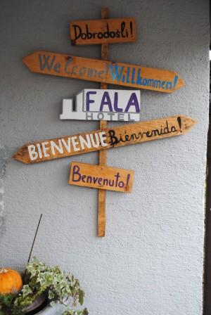 Hotel Fala Landesinnere