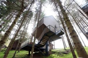 Üdülőfalu Plitivice Tree Houses Az ország belseje