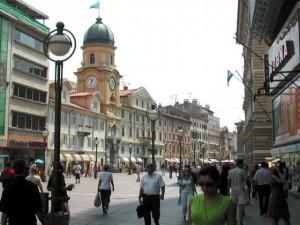 Korzo - längste Fußgängerzone von Rijeka